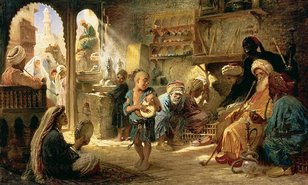 Стихи Омара Хайяма о веселье